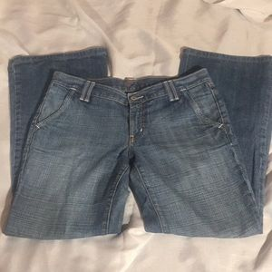 Seven for all mankind 7 women's jeans blue sz 30